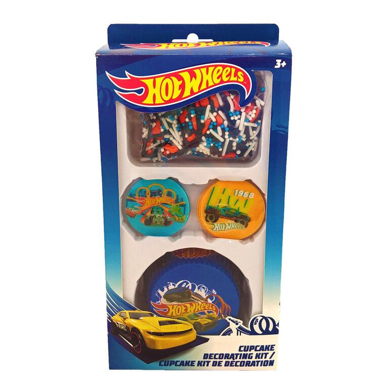 Hot Wheels Cupcake Decorating Kit