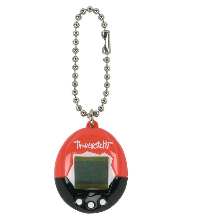 Tamagotchi - Red and Black with White