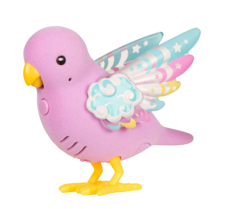 Little Live Pets - Light Up Songbirds - Rainbow Glow