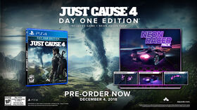 Just Cause 4 Play Station 4