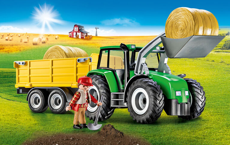 Playmobil - Tractor with Trailer