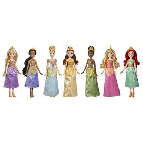 Disney Princess Ultimate Dress Pack, Fashion Doll 7-Pack with Skirts - R Exclusive
