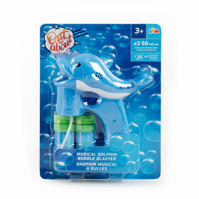 Out & About Musical Bubble Blaster Dolphin