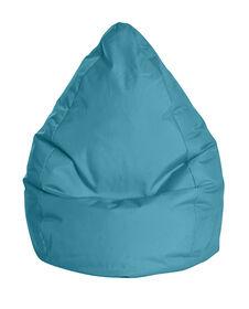 Gouchee Design - Beanbag Brava Fauteuil Poire Imperméable XL - Turquoise