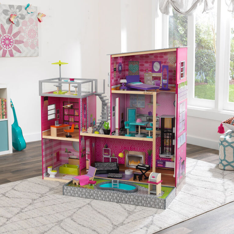 KidKraft Uptown Wooden Dollhouse