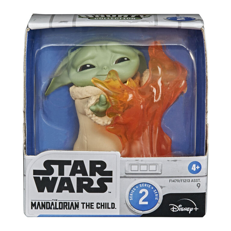 """Star Wars The Child  """"Baby Yoda"""" Stopping Fire Pose Figure"""