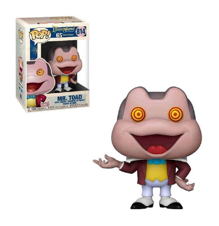 Figurine en Vinyle Mr. Toad par Funko POP! Disneyland 65th