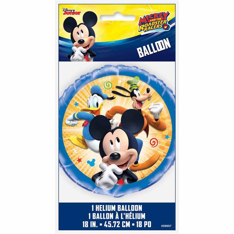 "Ballon aluminium rond, 18 "" - Mickey Roadster"