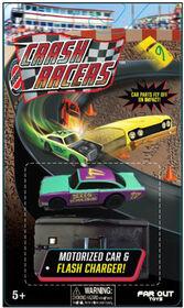 Crash Racers - Motorized Car & Flash Charger
