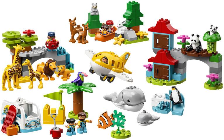 LEGO DUPLO Town Les animaux du monde 10907