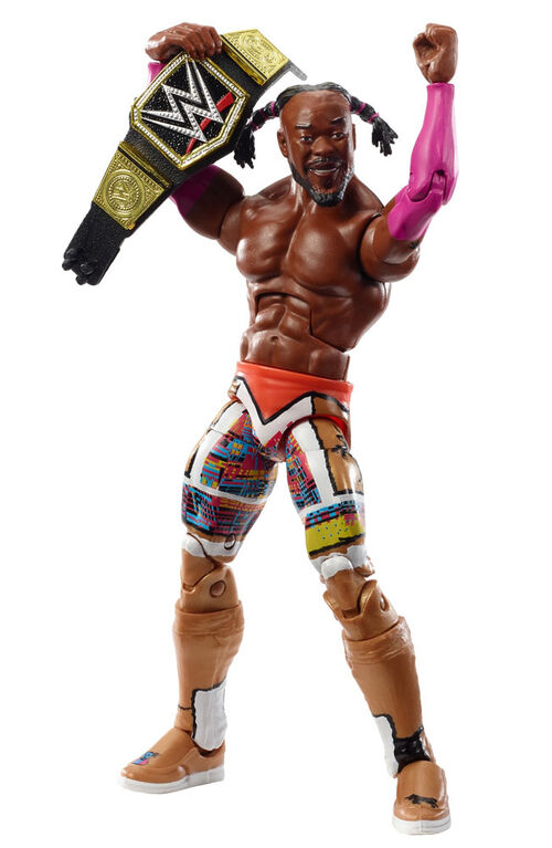WWE Kofi Kingston WrestleMania 35 Elite Collection Action Figure