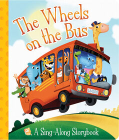 Board Book Picture Book Wheels on the Bus Sing-Along Board Book