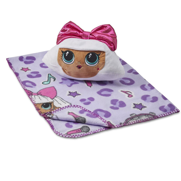 """LOL Surprise """"Pretty in Pink"""" Hugger with Throw"""