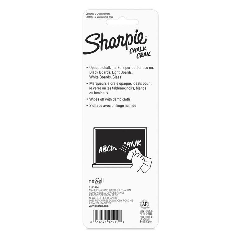 Sharpie Chalk White