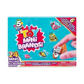 Mini marques de jouets de 5 Surprise en édition limitée avec l'Ensemble surprise de 24 avec 6 Minis exclusifs par ZURU