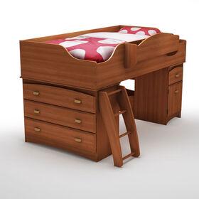 Imagine Loft Bed with Storage- Morgan Cherry