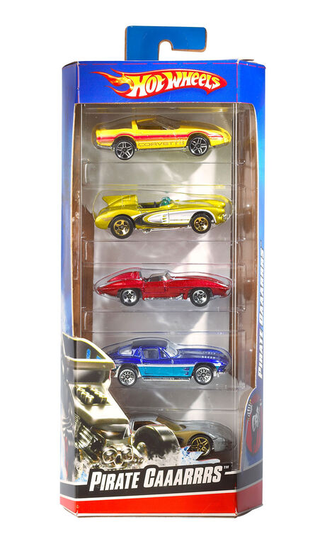 Hot Wheels 5-Car Pack Assortment - Styles May Vary