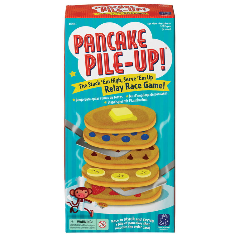 Pancake Pile-Up! Relay Game - Édition anglaise