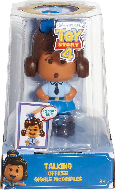 Disney Pixar Toy Story Talking Officer Giggle McDimples - English Edition
