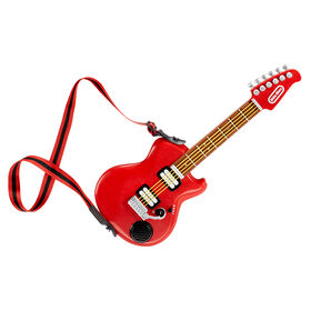 My Real Jam Electric Guitar, Toy Guitar with Case and Strap, 4 Play Modes, and Bluetooth Connectivity