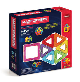 Magformers Classic 14 Piece Set - styles may vary - English Edition