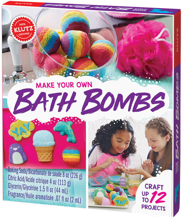 Klutz - Make Your Own Bath Bombs - English Edition