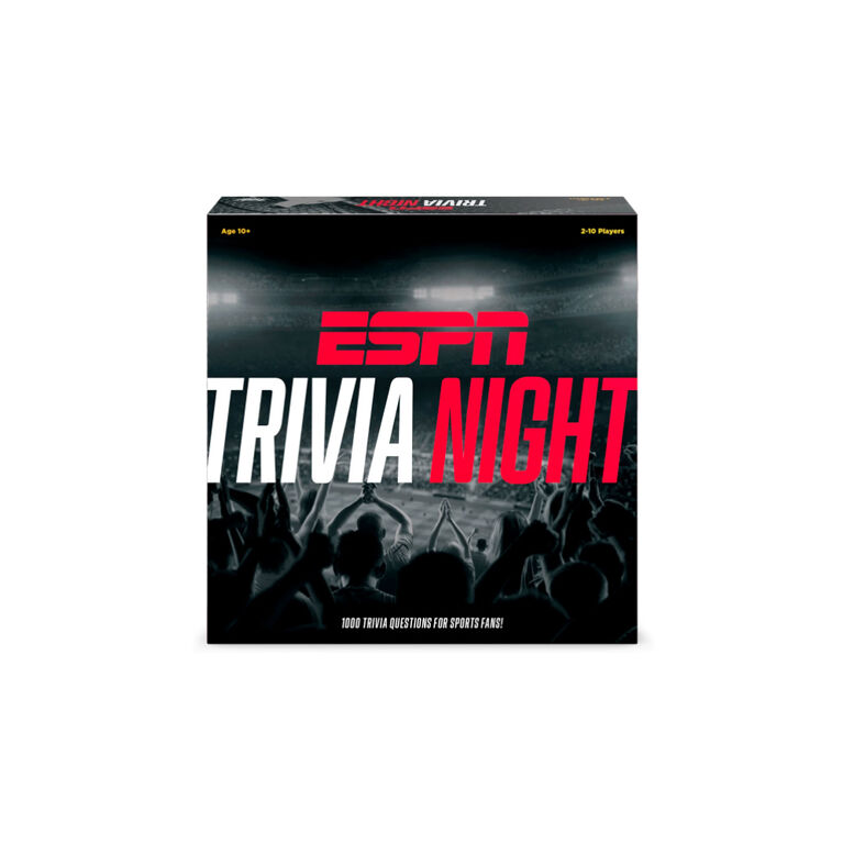 ESPN Trivia Night Board Game- R Exclusive - English Edition