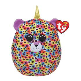 Ty Squish Giselle Multicolor Unileopard 10 inch
