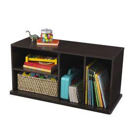 KidKraft Espresso Storage Unit With Shelves