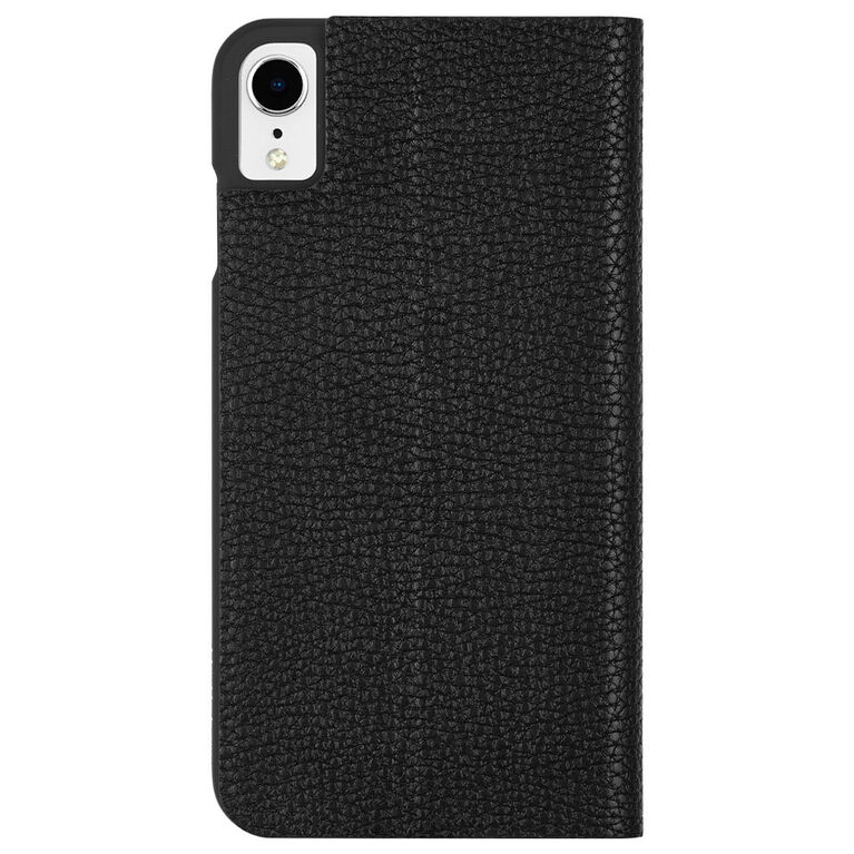 Étui Folio Barely There de Case-Mate pour iPhone Xr, noir