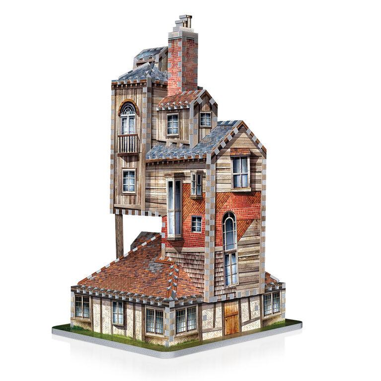 Harry Potter - WREBBIT 3D Jigsaw Puzzle - The Burrow Weasley Family Home  - 415 Pieces