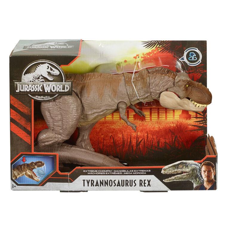 Jurassic World - Tyrannosaure Rex Mchoires Titanesques