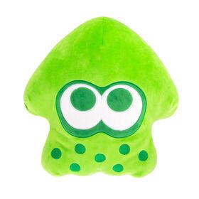 Club Mocchi- Mocchi- Splatoon 2 Mega Neon Green Squid Plush Stuffed Toy