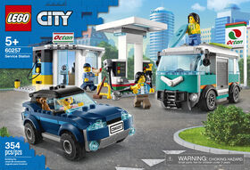 LEGO City Nitro Wheels Service Station 60257