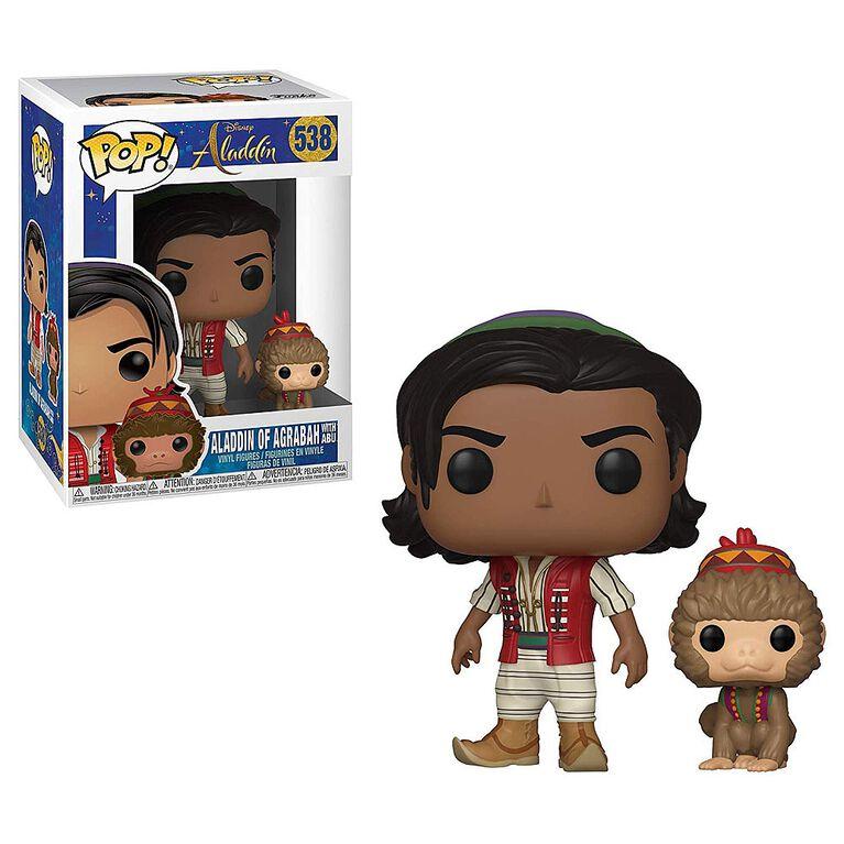 Funko POP! Disney: Aladdin - Aladdin of Agrabah with Abu Vinyl Figure
