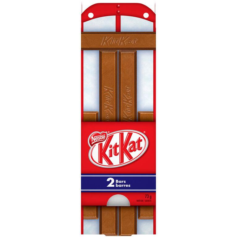 Traîneau des fêtes Kit Kat