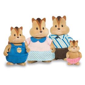 Scamperscoot Tamias, Li'l Woodzeez, Ensemble de petites figurines de tamias