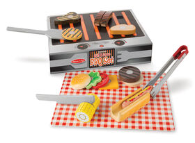 Melissa & Doug - Grill & Serve BBQ Set