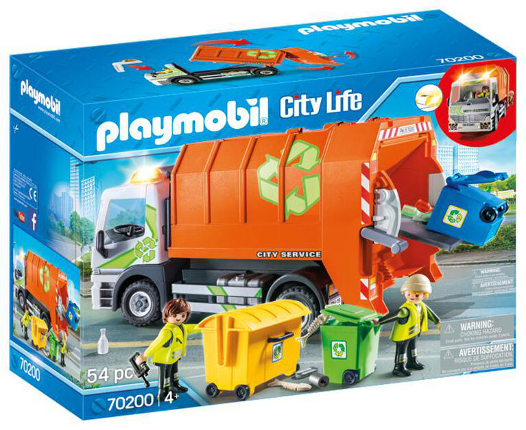 Playmobil Recycling Truck 70200