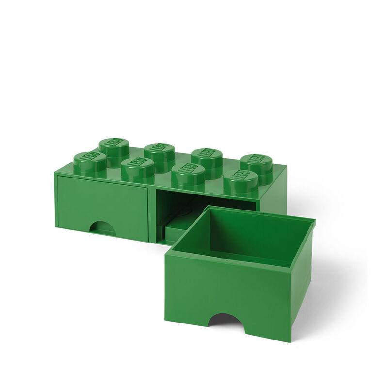 LEGO Storage Drawer 8 Green