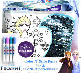 Frozen II - Colour N Style Sequins Purse - English Edition