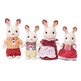 Calico Critters Hopscotch Rabbit Family - styles may vary