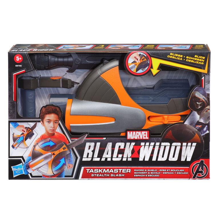 Marvel Black Widow Taskmaster Stealth Slash Sword and Shield