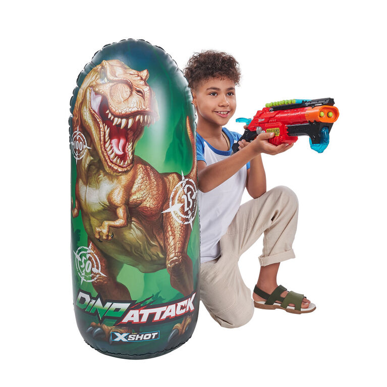 X-Shot Dino Attack Inflatable Target