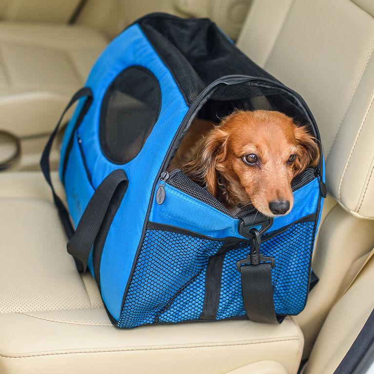 Sac de transport pour animal domestique Carry-Me de Gen7Pets - Bleu