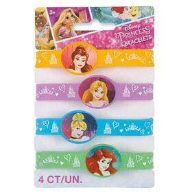 Princess Stretchy Bracelets, 4 pieces