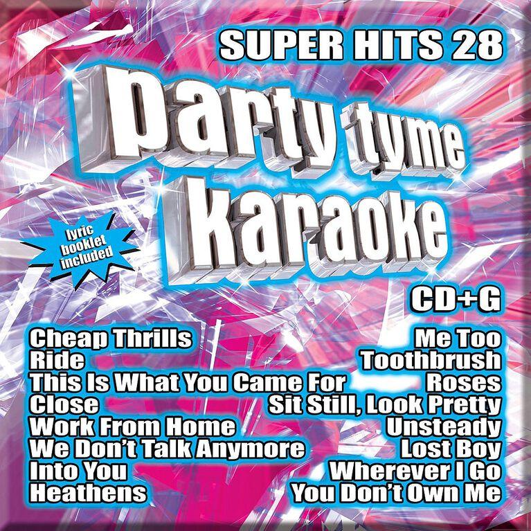Karaoke CD - Super Hits 28