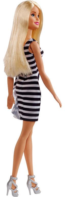 Barbie Glitz Doll, Black Stripes