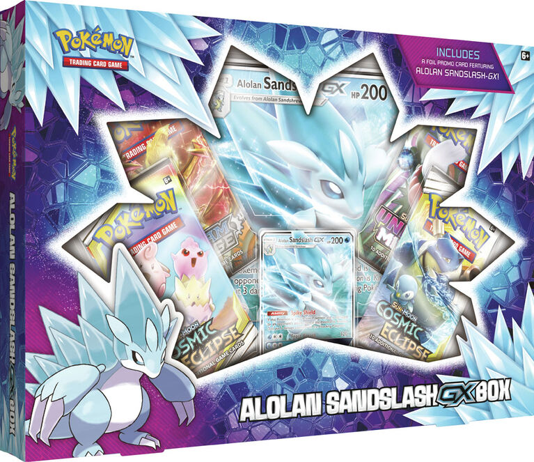 Pokemon TCG: Alolan Sandslash-GX Box