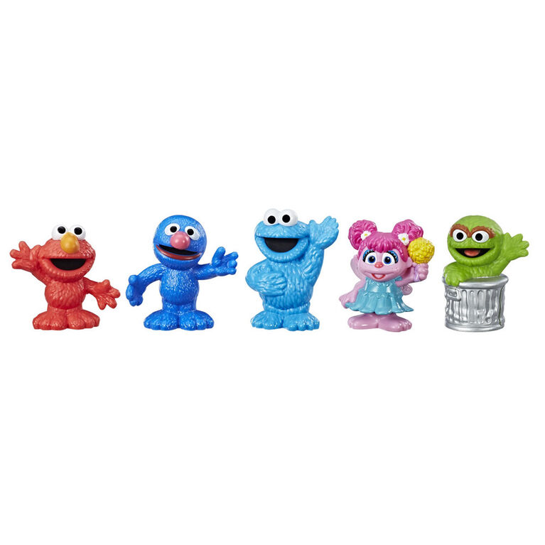 Playskool Friends Sesame Street -Collection amicale de 5 figurines - R Exclusif